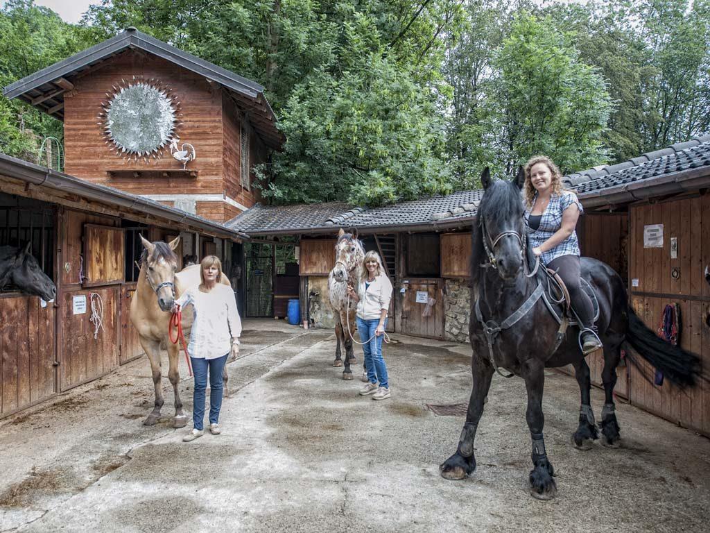 Passeggiate a Cavallo Valle Imagna Bergamo