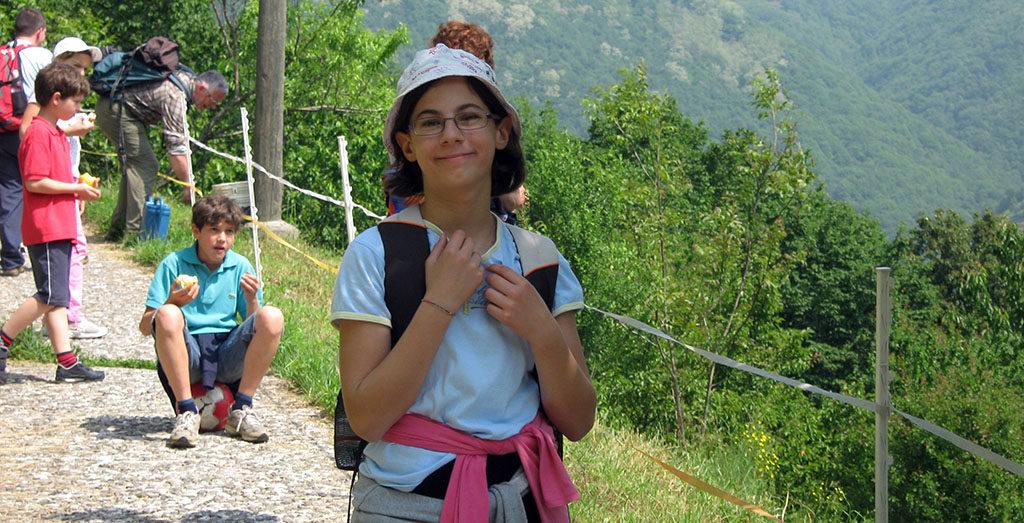 Escursione tra i boschi di Palazzago